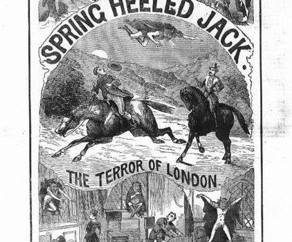 【都市傳說】倫敦的彈跳惡魔?彈簧腿傑克(上)