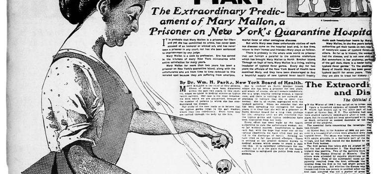 【傷寒瑪麗】「人型桿菌」?獵巫受害者?一個一百年前的隔離故事