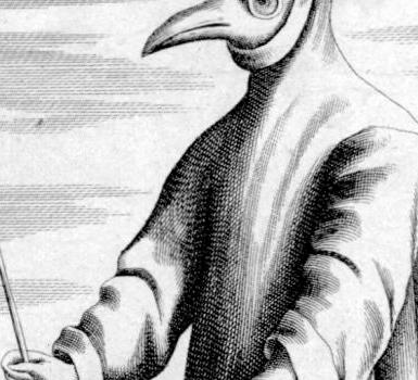 【怪奇知識】瘟疫醫生與他們的神奇鳥嘴面具