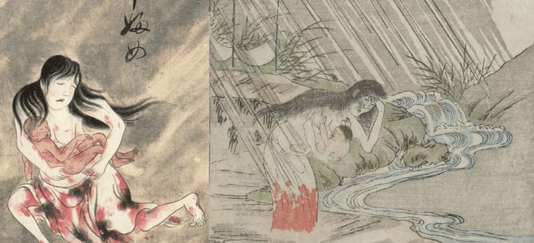 【怪物目擊】女人難產的恨,化作駭人妖怪:產女/姑獲鳥傳說