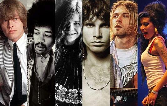 【音樂怪談】27歲必死!?那些加入「27俱樂部」的天才搖滾巨星們